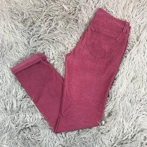 Ann Taylor LOFT Modern Straight Corduroy Pant
